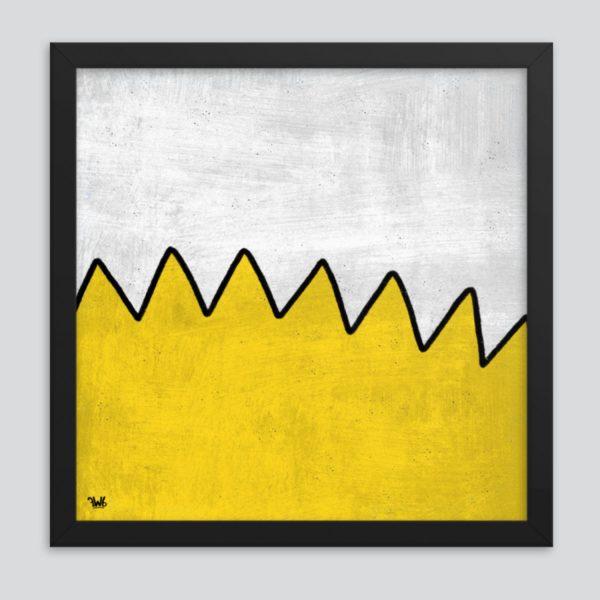 the simpsons bart simpson art poster print
