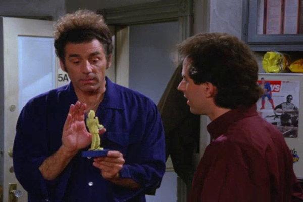 Fusilli Jerry Seinfeld Inspired Framed Art Print