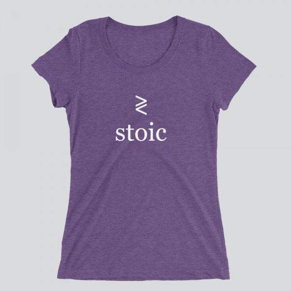 Stoic stoicism women's shirt