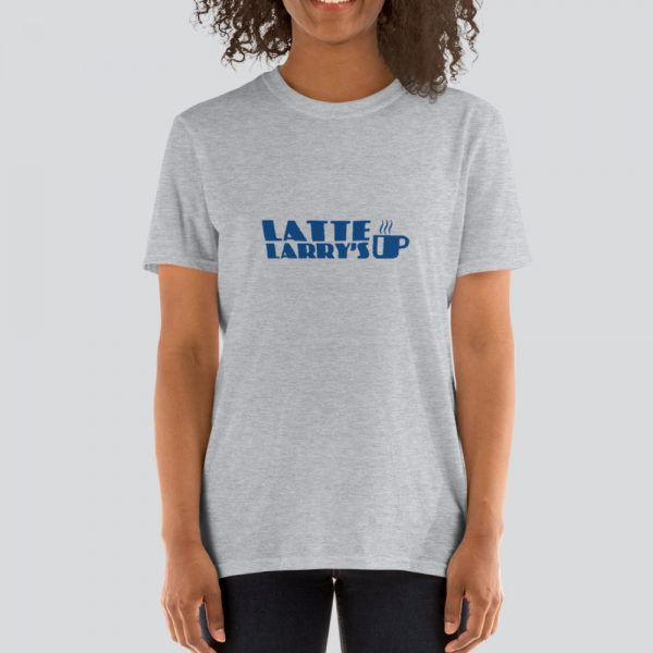 Latte Larry's Curb Your Enthusiasm Short-Sleeve Unisex T-Shirt – Screen Accurate
