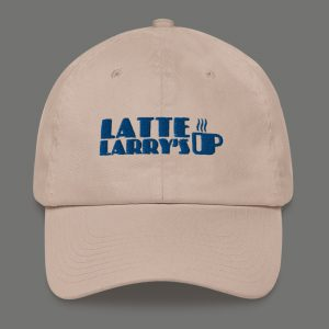 Curb your enthusiasm Latte Larry's cap