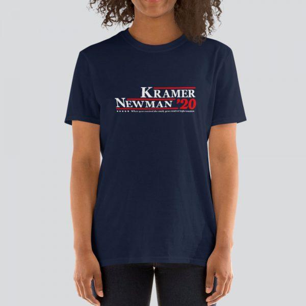Kramer/Newman 2020 Campaign Short-Sleeve Unisex T-Shirt