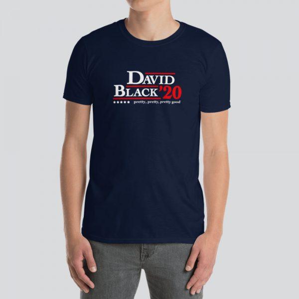 Curb Your Enthusiasm David/Black 2020 Campaign Short-Sleeve Unisex T-Shirt