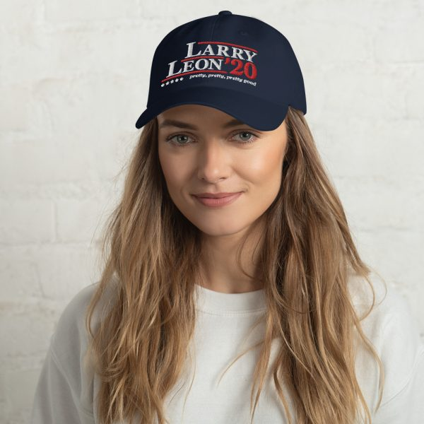 Curb Your Enthusiasm Larry/Leon 2020 Campaign Baseball Cap