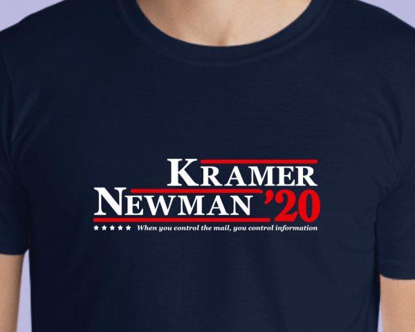 Seinfeld Kramer Newman campaign shirt