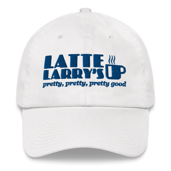 Embroidered Latte Larry's Pretty, Pretty, Pretty Good Curb Your Enthusiasm - Screen Accurate