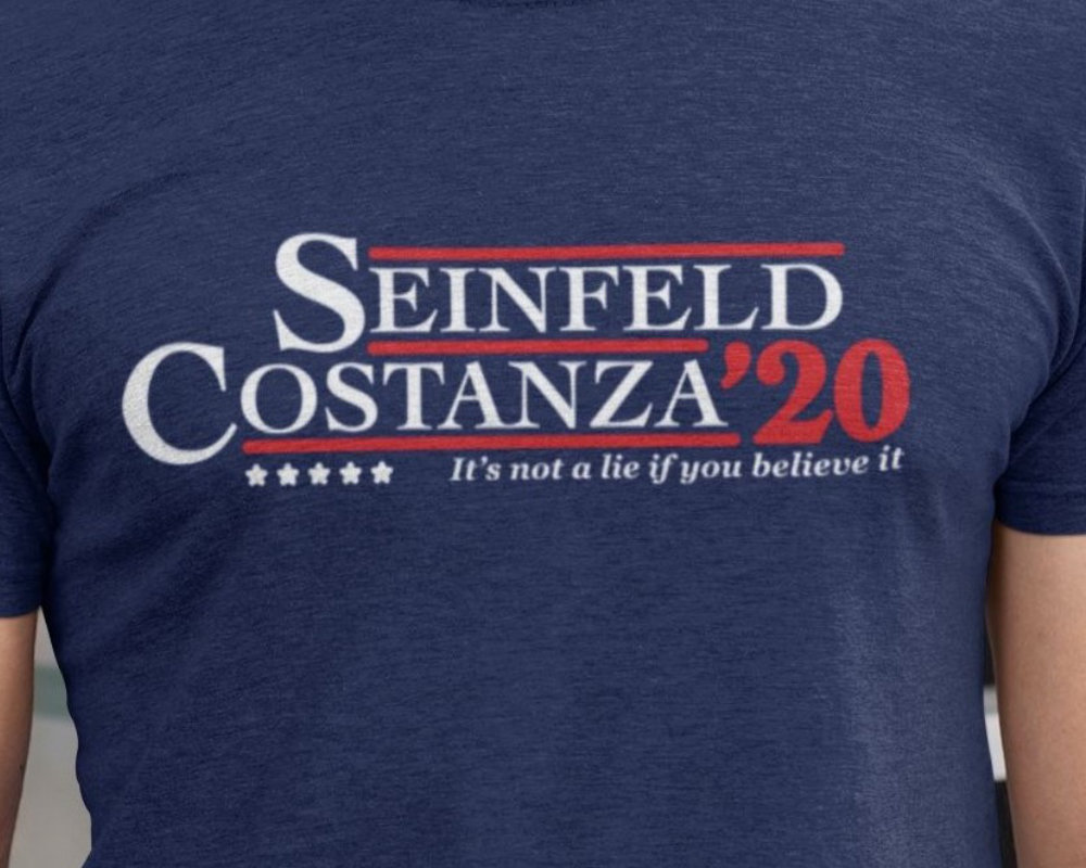 Seinfeld/Costanza 2020 Campaign Short-Sleeve Unisex T-Shirt