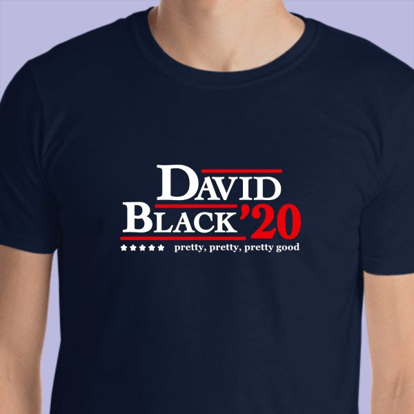 Curb Your Enthusiasm David/Black 2020 Campaign Short-Sleeve Unisex T-Shirt