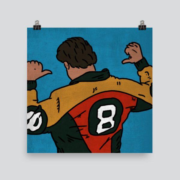 Seinfeld - 8 Ball Art Print Poster