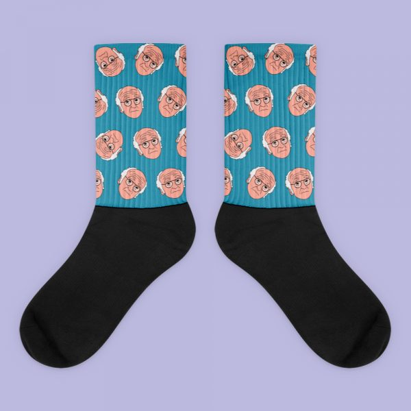 Larry David curb your enthusiasm socks