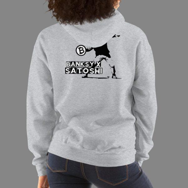 Banksy x Satoshi Unisex Hoodie